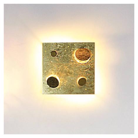 Knikerboker Knikerboker Buchi nástěnné světlo 32x32cm pozlátko