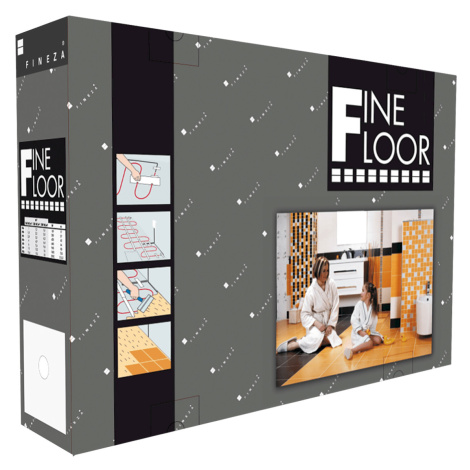 Teplá dlažba Fineza Fine Floor 6-9,6 m2 FFE