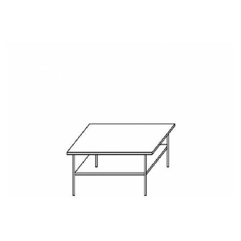 Ambala konferenční stůl 9 švestka JRK