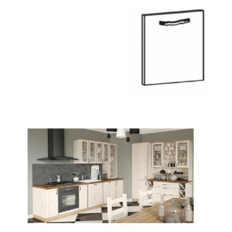 Kuchyňská linka sosna skandinávská ROYAL na míru Rozměry: 60x58x212, Skříňka, levá, ROYAL D60R: