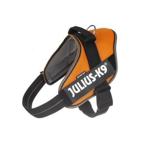 JULIUS-K9 IDC® POWAIR postroj - oranžový - velikost 1: obvod hrudi 63 - 85 cm