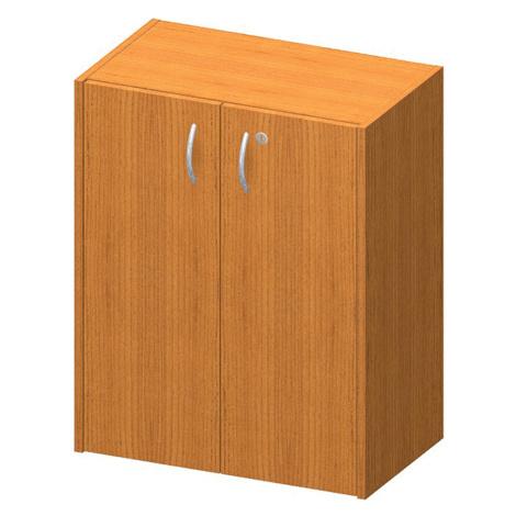 Skříňka nízká + zámek, trěšeň, TEMPO AS NEW 011 Tempo Kondela