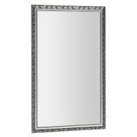 SAPHO MELISSA zrcadlo v dřevěném rámu 572x972mm, stříbrná NL496
