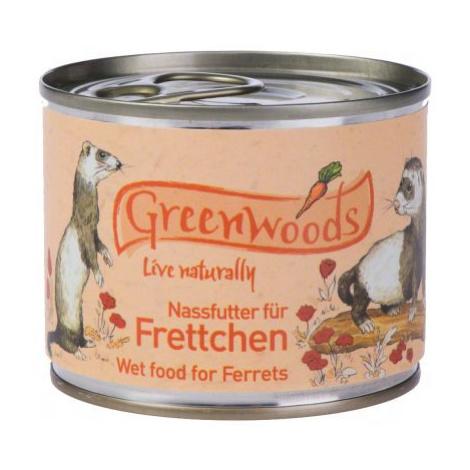 Greenwoods Ferret konzerva - 6 x 200 g