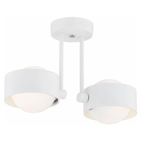 EULUNA LED koupelnové stropní světlo Macedo 2 zdroje bílé