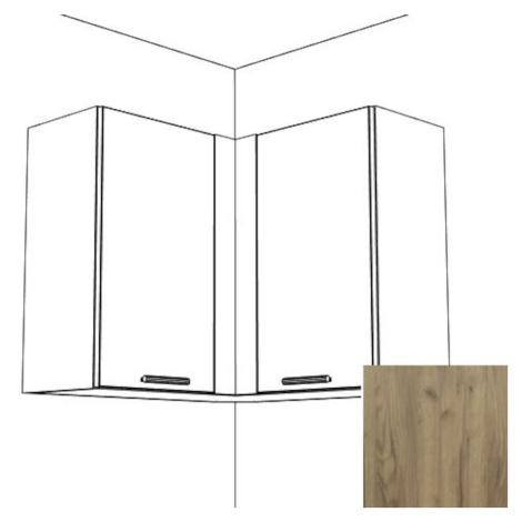 Kuchyňská skříňka Naturel Gia rohová 80x80 cm dub WC808072DT