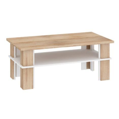 Konferenční stolek Futura 2 švestka-černý lesk, bez osvětlení FOR LIVING