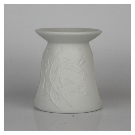 Aroma lampa bílá kolibřík 10cm NOVAline