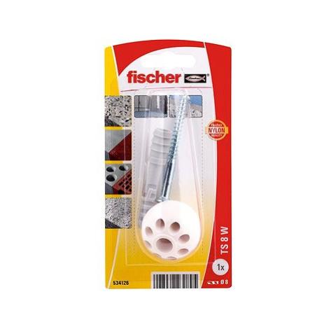 fischer TS Zarážeč dveří bílá