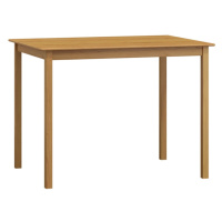 Stůl 110 x 60 cm nr.1, masiv borovice/moření olše