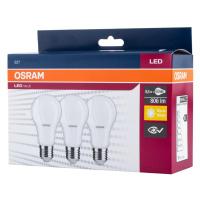 LED žárovka LED A60 E27 8,5W = 60W 806lm 2700K OSRAM VALUE 3-PAK OSRVALU0505