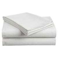 Bavlněné prostěradlo Standard bílé 140x240 cm