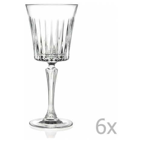 Sada 6 sklenic na sekt RCR Cristalleria Italiana Coco, 300 ml