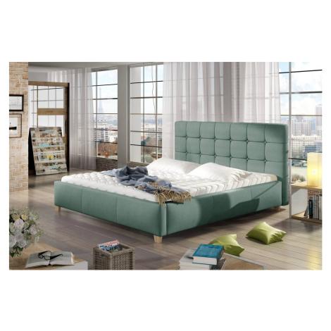 Confy Designová postel Anne 160 x 200 - 7 barevných provedení