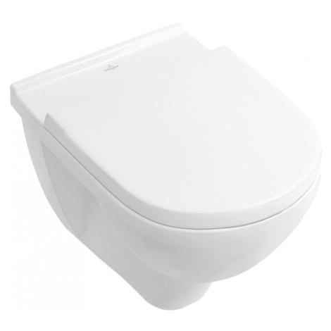 VILLEROY&BOCH Závěsná WC mísa VILLEY + záchodové prkénko Villeroy & Boch