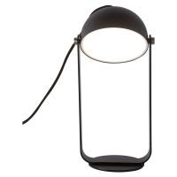 Viokef LED stolní lampa Hemi otočné stínidlo černé
