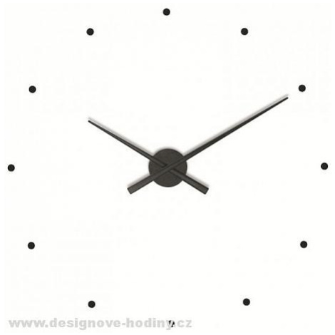 Designové nástěnné hodiny NOMON OJ černé 80cm FOR LIVING
