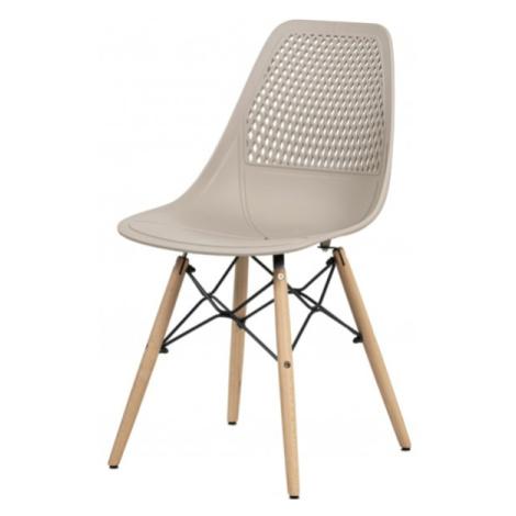Sconto Jídelní židle ELODY bílá