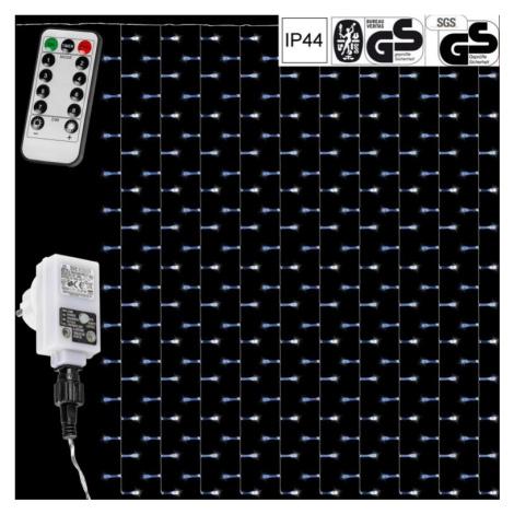 VOLTRONIC® 59929 Vánoční osvětlení - světelný závěs - 3x6 m studená bílá 600 LED