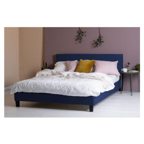 Hector Čalouněná postel Mattson modrá
