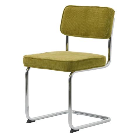 Furniria Designová konzolová židle Denise zelená