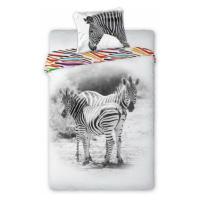 Bavlněné povlečení Zebry
