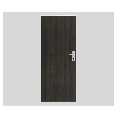 Bezpečnostní RC2 dveře Naturel Technické pravé 80 cm jilm antracit B2JA80P