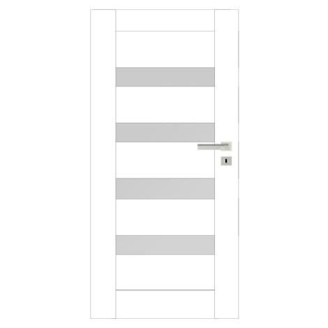 Interiérové dveře Eria 4*4 70L bílé 048 BAUMAX