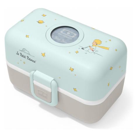 MonBento, Svačinový box Tresor Le Petit Prince   tyrkysový