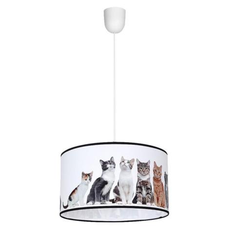Milagro Lustr na lanku CATS 1xE27/60W/230V