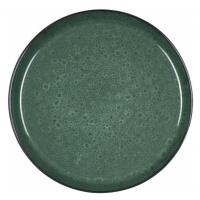 Bitz, Mělký talíř 27 cm Black/Green | černá