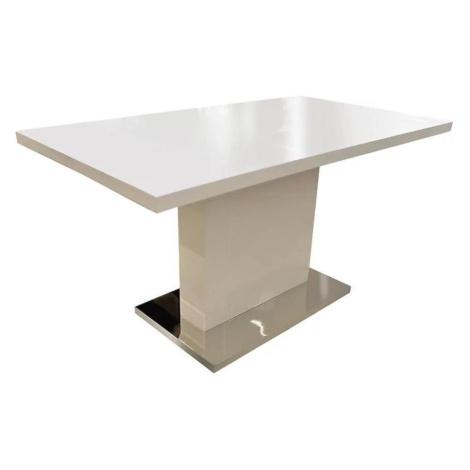 Stůl Everest 140x80 Bílý BAUMAX