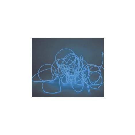 Elektroluminiscenční kabel, Ø 2 mm, 2 m, modrá