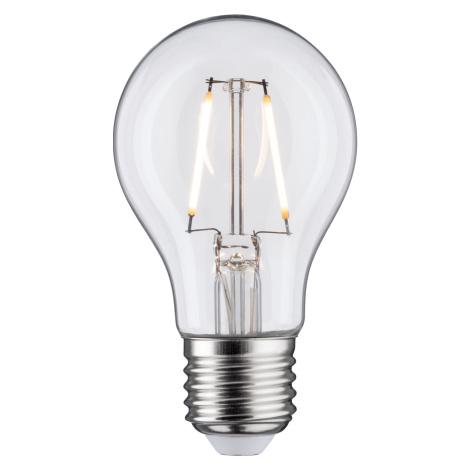 PAULMANN LED žárovka 3 W E27 čirá teplá bílá 286.14 P 28614 28614 Čirá