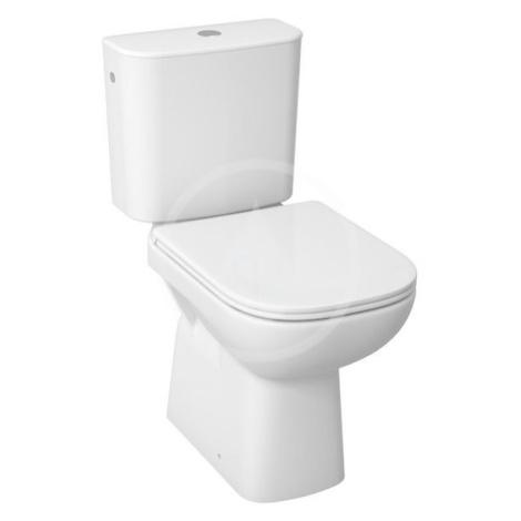 JIKA Deep WC Kombi včetně nádržky, 650x360x430 mm, spodní odpad, bílá H8266170002811