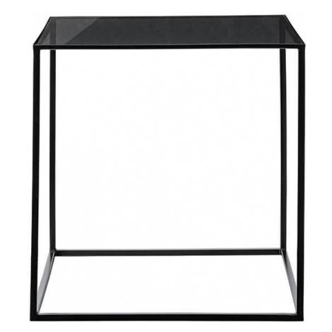 Muzza Konferenční stolek cube 50 x 50 černý Bloomingville