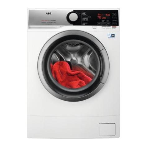 Pračka předem plněná pračka s předním plněním aeg l6se26sce, 6kg