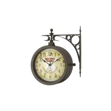 Venkovní/vnitřní nástěnné hodiny s teploměrem TFA Old Town TFA Dostmann