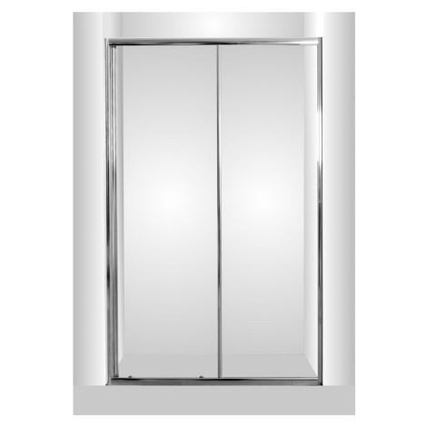 HOPA Sprchové dveře do niky SMART SELVA Barva rámu zástěny Hliník chrom, Rozměr A 150 cm, Směr z