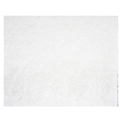 Chlupatý kusový koberec Shaggy Plus bílý 963 Typ: 80x150 cm Spoltex
