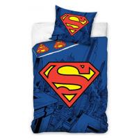 TipTrade Bavlněné povlečení se svítícím efektem 140x200 + 70x90 cm - Superman
