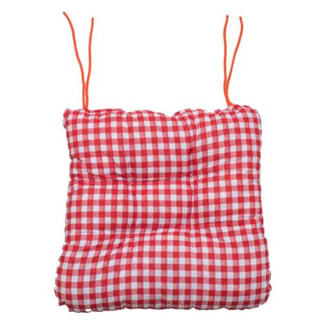Podsedák na židli Soft kostička červený