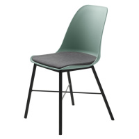 Furniria Designová židle Jeffery matná zelená