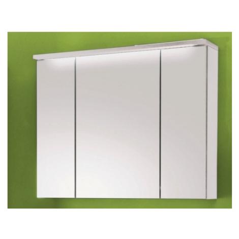 Koupelnová skříňka se zrcadlem Splash, s osvětlením, bílá ASKO - NÁBYTEK