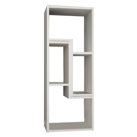 Multifunkční regál, bílá, DTD laminovaná, VARIO Tempo Kondela