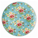 Mělký talíř Springtime Flowers Turkis Rosenthal 22 cm