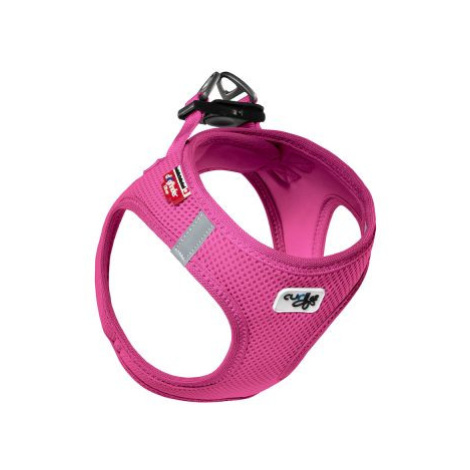 Curli Vest Air-Mesh postroj - fuchsiový - velikost S: obvod hrudi 40 - 45 cm