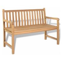Zahradní lavička 120 cm z teakového dřeva