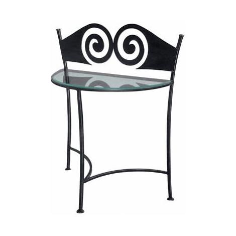Kovaný noční stolek RONDA 0411 FOR LIVING