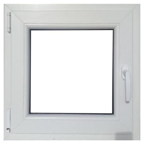 Okno levé 60x60cm bílé/zlatý dub BAUMAX